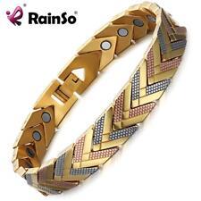 Rainso Health Magnetic Bracelet Bangle For Women Stainless Steel Bio Energy -NEW