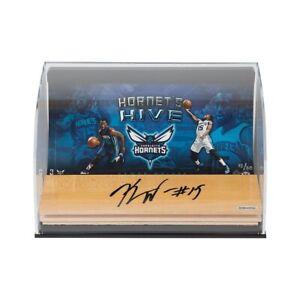 """Kemba Walker Signed Autographed 3X10 Floor Piece Display """"Hornet's Hive"""" /50 UDA"""