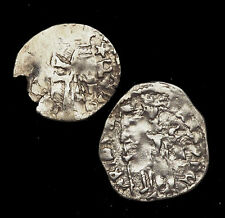 ITALY, Venice. Silver Soldino, Lot of 2, c. 1300-1400's