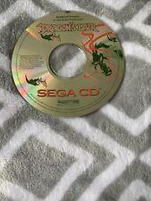 Sega CD Game Only Dragons Lair