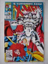 X-MEN UNCANNY #296 MARVEL COMIC X-CUTIONERS SONG PART9 JANUARY 1993