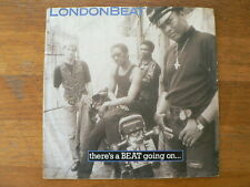 EP MOTORCYCLE COVER LONDONBEAT THERE'S A BEAT GOING ON SINGLE 7 INCH 1988 A