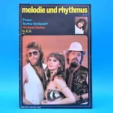 DDR Melodie und Rhythmus 11/1983 Barbra Streisand John Mayall Paul Rutherford