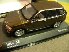 1/43 MINICHAMPS BMW x5 1999 Vert Olive Metallic 431 028477
