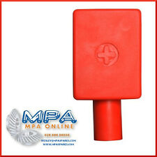 BATTERY TERMINAL COVER - POSITIVE CENTRAL ENTRY - HIGH QUALITY DURABLE PVC