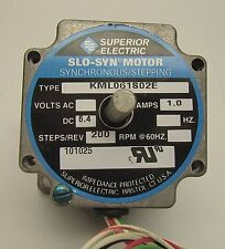 Superior Electric Slo-Syn Step Motor KML061S02E Syncoonous Stepping Motor 6.4 V