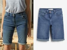 NEXT Mid Rise Knee Short in Blue Sizes 6 to 22