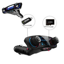 Car Kit FM Transmitter Radio MP3 Player USB Charger AUX 12V Bluetooth Handsfree