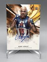 Kurt Angle 2019 Topps WWE Undisputed Orange Autograph Auto /99!