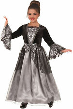 Girls Lady Gothique Costume Vampire Gothic Victorian Dress Size Large 12-14