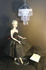 Barbie, Fashion Royalty, Poppy doll  - DIORAMA -   Lighted Chandelier - Round