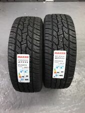 2 x 255/60 R18 Maxxis AT-771 Bravo 112H XL BSW M+S 255 60 18 - TWO TYRES
