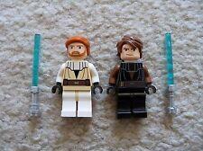 LEGO Star Wars - Obi-Wan Kenobi & Anakin Skywalker - From 7931- Excellent