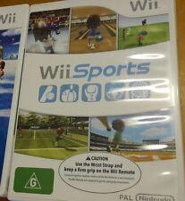 Wii Sports Nintendo game