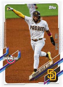 2021 Topps MLB Digital NFT OPENING DAY Fernando Tatis Jr Minted 2748/5000