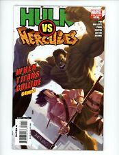Hulk vs. Hercules When Titans Collide #1, VF/NM 2008 Written by GREG PAK
