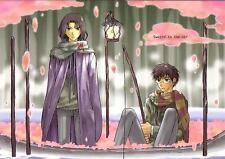 """Harry Potter YAOI Doujinshi """" swayin in the air """" James Severus"""