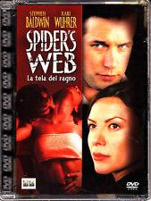SPIDER'S WEB - LA TELA DEL RAGNO - DVD (NUOVO SIGILLATO) SUPER JEWEL BOX