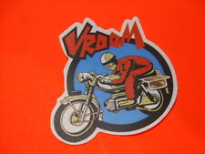 VROOM MOTORCYCLE Sticker/ Decal Bumper Stickers Actual Pattern NEW