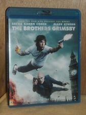 The Brothers Grimsby (Blu-ray Disc, 2016)  Sacha Baron Cohen, Mark Strong
