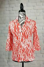 Sport Haley women's size small long sleeve stretch knit geo print top NWT b24