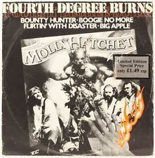 FOURTH DEGREE BURNS  MOLLY HATCHET Vinyl Record