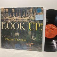 The Pilgrim Travelers- Look Up- Andex Gospel Soul LP- VG/VG+ RARE Groove Killer