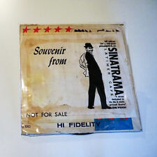Frank Sinatra Souvenir from Sinatrama Latimer Cafe - RARE Vinyl LP!!