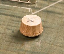 Tone Ninja PRS-style 'Lampshade' Guitar Knob Maple Wood Inlaid Abalone Bird
