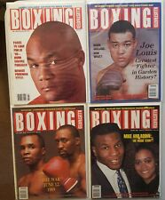 1989 - 1990 Boxing Illustrated Magazines,   9 total