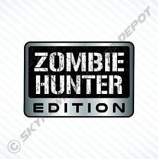 Zombie Hunter Edition Vinyl Car Sticker Badge Vinyl Decal Walking Dead Fits Jeep