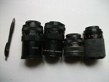Photo Camera Objectif / Lens - 4x (Helios - Pentacon - Pentacon - Zenitar)