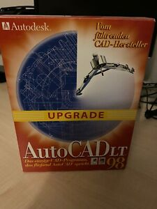 Autodesk AutoCAD LT 98 Upgrade CD OVP