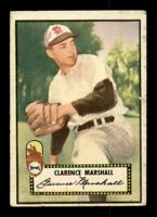1952 Topps Set Break # 174 Clarence Marshall GD *OBGcards*