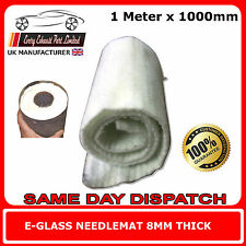 Exhaust Silencer Wadding 1 Meter x 1000mm E-Glass Fibre Packing for Motorcycle