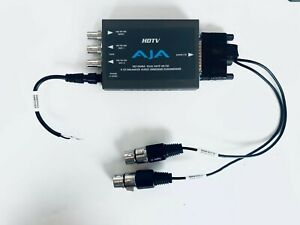 AJA HD10AMA Dual Rate 4-Channel Analog to SDI Embedder/Disembedder