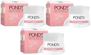 3x Ponds White Beauty Instabright Tone Up Milk Cream 50g