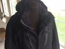 OutdoorMaster Men's 3-in-1 Ski Jacket - Winter Jacket Set with Fleece Liner Jack