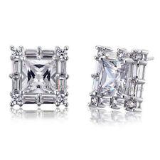 Princess Stud Fine Diamond Earrings