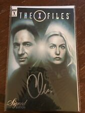 X Files 1:50 Chris Carter Signed Edition IDW 2016 Rare NEW