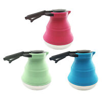 Collapsible Kettle Folded Portable Travel Camping Kettle Silicone