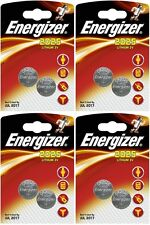 4x Energizer CR2025-C2 Litihium 3V Coin Cell CR2025 Batteries (8 Batteries)