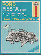 FORD FIESTA - Haynes Workshop Manual - 1983 to 1989 models - USED - TO CLEAR