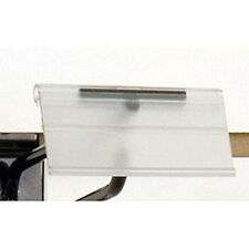 """Count of 100 New Retails Scan hook label holder-1-1/4""""h x 2-1/2""""w"""