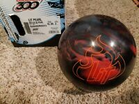 "Columbia 300 Lit Pearl 1st Quality Bowling Ball | 16 Pounds | 1-2"" Pin"