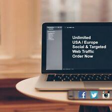 10000 American Or Europe Keyword Targeted Social Amp Organic Web Traffic 24h
