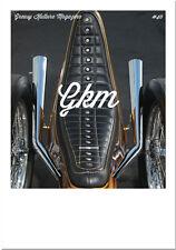Greasy Kulture Magazine 40 GKM Harley Triumph Sportster FLH Shovel BSA iron FX