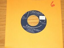 """ROCK + ROLL 45 RPM - BONNIE LOU - FRATERNITY 808 - """"HAVE YOU EVER BEEN LONELY?"""""""