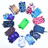 1x Grocery Storage Handbag Foldable Key Chain Tote Pouch Reusable Shopping Bag