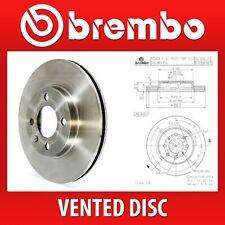 Brembo Front Pair Vented Brake Discs 09.9591.10 - Fits HONDA